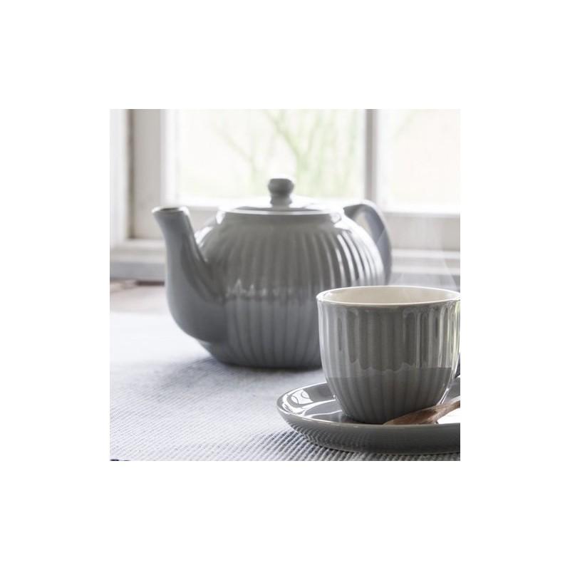 Tekande / tepotte grå (french grey) - ib laursen - mynte serien