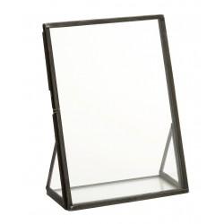 Fotoramme m/ skrå sider i glas - Nordal - Lille