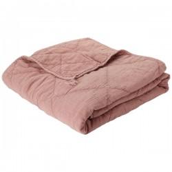 Quilt - Vattæppe - C'est Bon - Gammel rosa 130x200