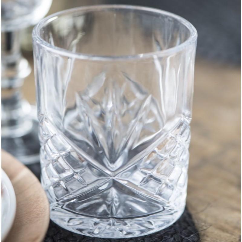 Whiskyglas / Drikkeglas Klar - Ib Laursen