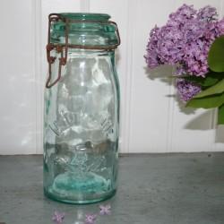 Henkognings glas - Franske - I klar grøn