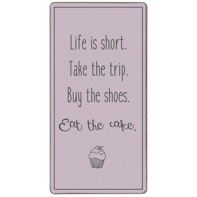 "Magnet - ib laursen ""life is short - take the trip..."""