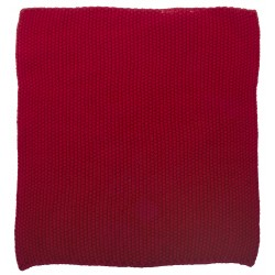 Karklud rød, strikket - Ib Laursen - ta' 3 stk. for kr. 99,-