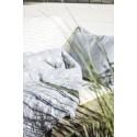 Quilt - Vattæppe - Ib Laursen støvet blå m/ blomster