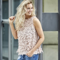 "Top / Bluse ""Chicken"" rosa - Costamani"