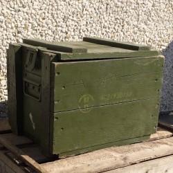 Millitærkasse i træ - Ammunitionskasse Grøn