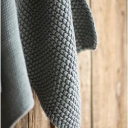 Grydelap Mørkegrå strikket - Ib Laursen