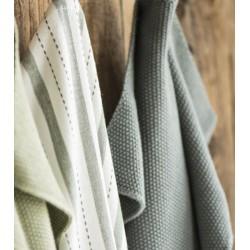 Håndklæde Mørkegrå strik - Ib Laursen - Lille