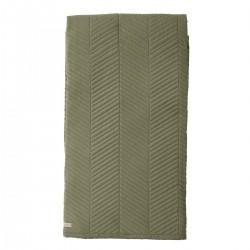 Sengetæppe / Quilt - Bloomingville - Oliven grøn 140x200