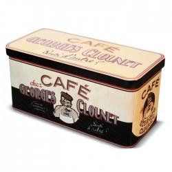 "Metaldåse til kaffekapsler ""Georges Clounet"""