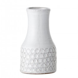 Vase, Hvid, Terrakotta