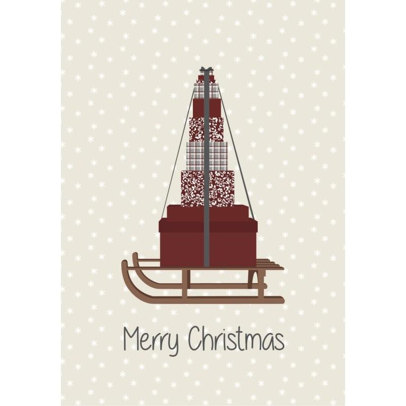 "Metalskilt ""Merry Christmas"" - Ib Laursen"