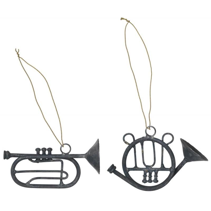 Trompet El. Horn M/ Gylden Wire - Ib Laursen