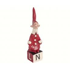 Maileg - Petit Noël No. 5 - Nisse dreng m/ sukkerstok