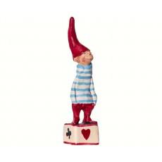 Maileg - Petit Noël No. 6 - Nisse dreng på Kasse