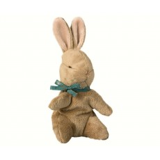 Maileg - Baby Bunny / Kanin m/ karrygul tørklæde
