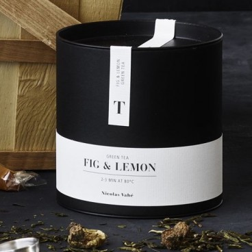 Grøn Te m/ Figen & Citron - Nicolas Vahé 100 g