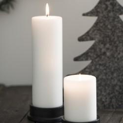 Bloklys - Ib Laursen - hvid Ø:6 H:20 - Diederich Lys