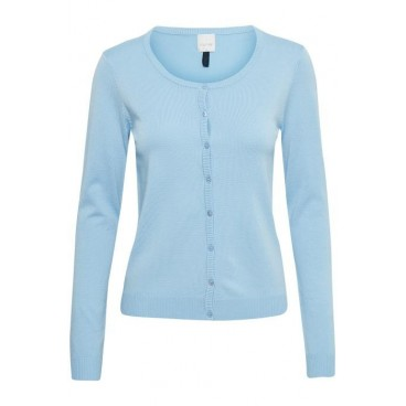 "Cardigan ""Annemarie"" - Lyse Blå  - Culture (Airy Blue)"