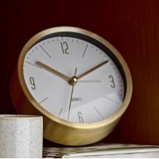 Bord Ur m/ guld finish og Alarm - Bloomingville