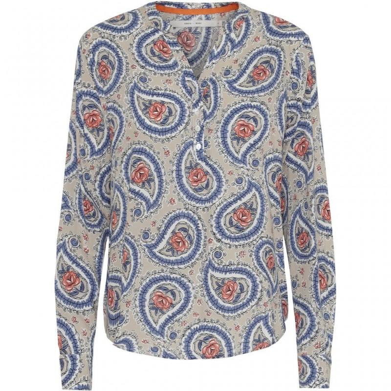 "Skjorte / Bluse ""Alexia"" m/ Paisley mønster - Costamani"