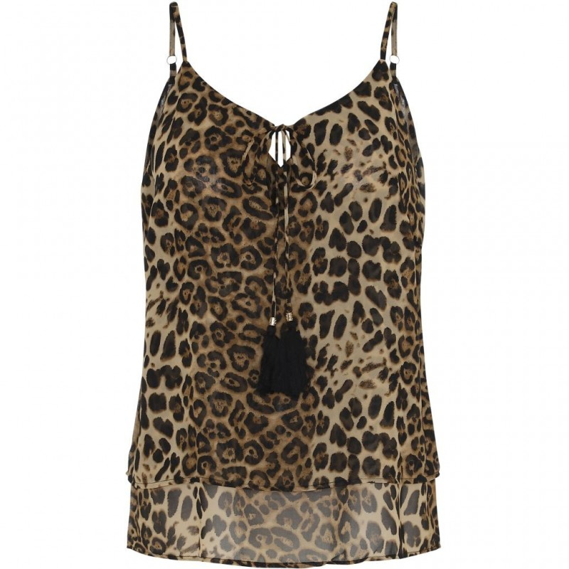 Top m/ leopardprint - Costamani