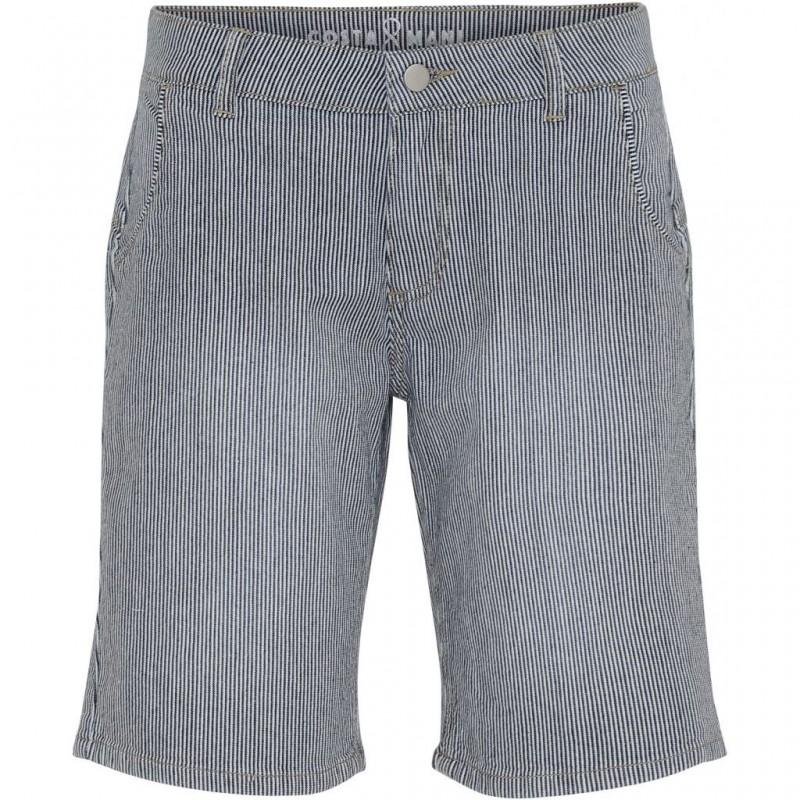 """Shorts m/ blå & hvide striber - Costamani """"Capri"""""""