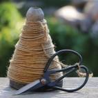 Træspole m/ snor og saks