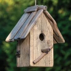 Fuglehus rustik stil - firkantet - Aafod Høj
