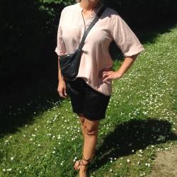 Skjorte / Bluse - Culture i hør - Rosa
