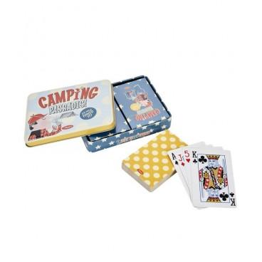 "Spillekort i Dåse - Natives ""Camping pas un radis"""