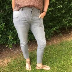Jeans m/ striber - Costamani