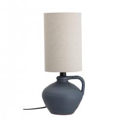 Bordlampe, Blå, Terrakotta
