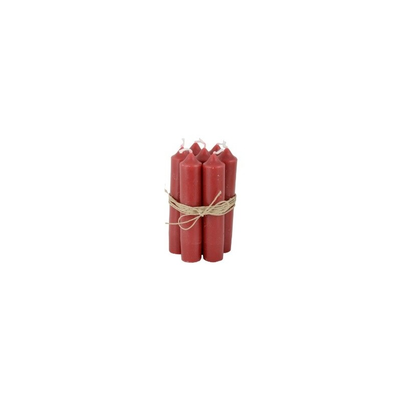 Image of   Bedelys rød, 1 bdt. á 7 stk. - ib laursen