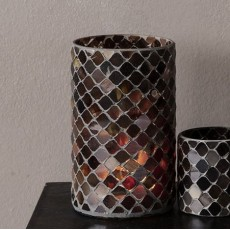 HD, 12C, Candle stand, Brownie, Brown, (candle/dia
