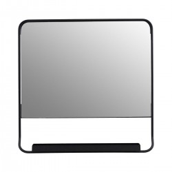 HD, 2C, Mirror, Chic, Blackw: 45 cm, h: 45 cm