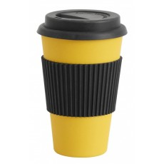 BAMBOO, mug to go, yellow, 0,33l