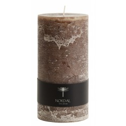 Candle, Brown, XL