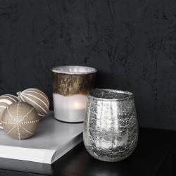 HD, 12C, Candle stand, Bright, Silver, Colour/Fini