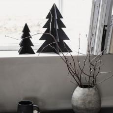 HD, 12C, Christmas tree, Glizz, Blackw: 12.7 cm, h
