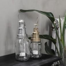 "Lanterne ""Fhia"" anik messing - House Doctor - H: 22 cm"