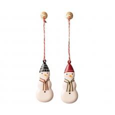 Maileg - Metal ornament - Snemand