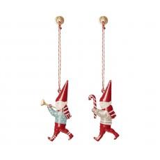 Maileg - Metal ornament - Nisser