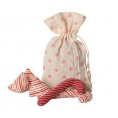 Maileg Slikpose - Ornament i hør