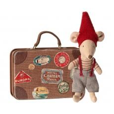 Julemus i kuffert - Maileg - Lillebror