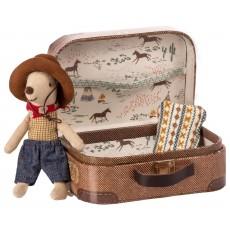 Cowboy i kuffert - Maileg - Lillebror