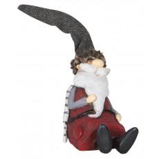 Julemand siddende - Ib Laursen