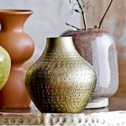 Vase, Messing, Metal