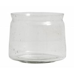 """Vase """"Bubbly"""" klart glas - Nordal - Stor"""