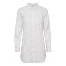 Skjorte hvid - Saint Tropez (ekstra længde)